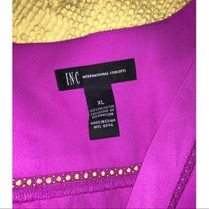 INC International Concepts Tops - INC purple